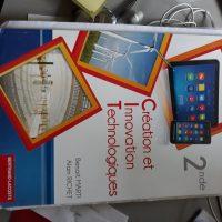 Vends 1 Fichier de Création Innovation Technologie de seconde, neuf